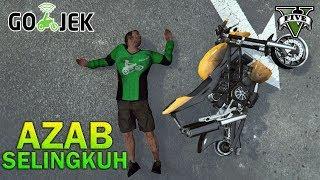 GOJEK DISAMBAR PETIR GOSONG!! - GTA 5 YOUTUBER KOCAK PARODY
