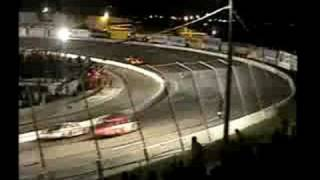 Stock car crash - 2005 Hantz Group 200 - Andy Belmont