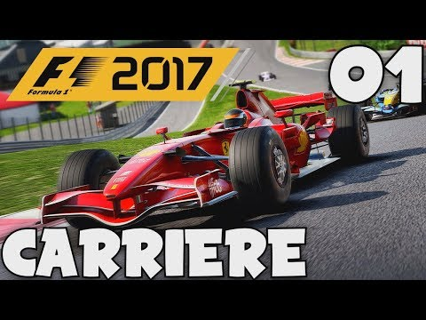 F1 2017 (FR) - 01 - MODE CARRIÈRE : MLA IS BACK !