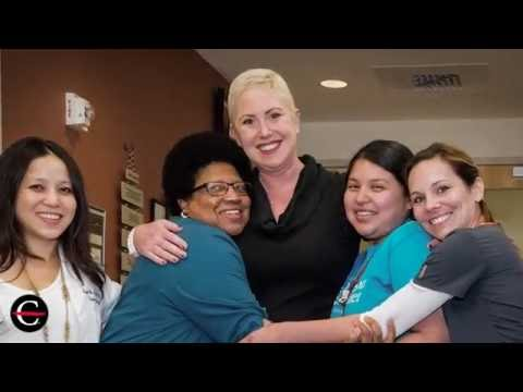 Spindle cell thymoma patient celebrates the end of her proton therapy treatment