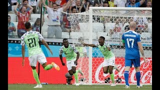 NIGERIA Vs ICELAND 2 - 0  2018 FIFA WORLD CUP RUSSIA - PREDICTIONS AND REACTIONS