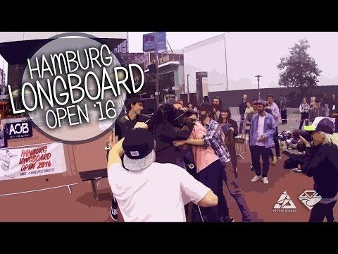 Hamburg Longboard Open 2016 Timur & Kate Trip