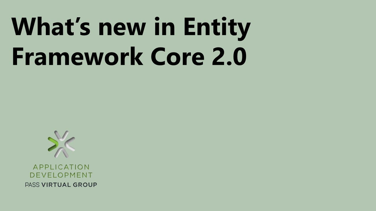 What's new in Entity Framework Core 2 0
