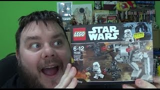 LEGO Star Wars Rogue One Imperial Trooper Battle Pack Set 75165 Build & Toy Review (SuperSorrell)