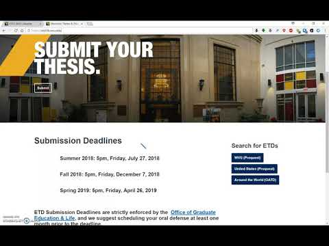 West Virginia Theses and Dissertations