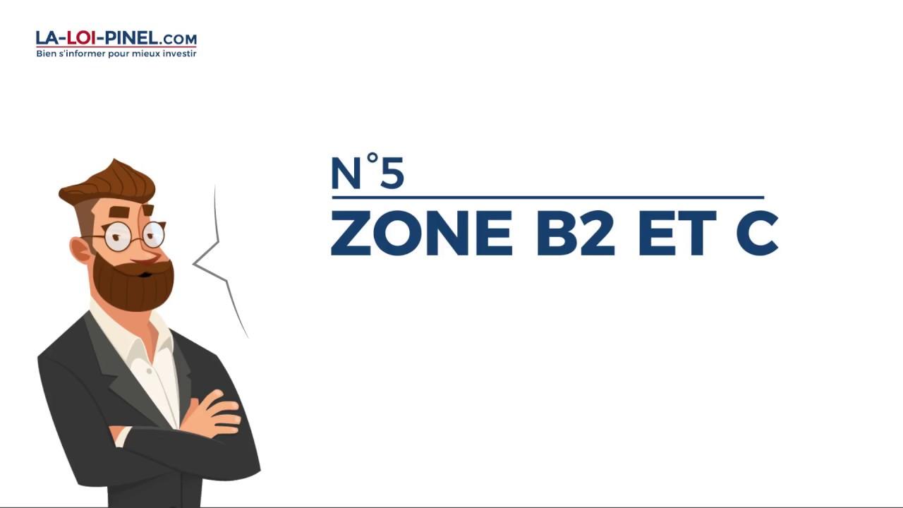 Le zonage Pinel en 20s – #5 zone B2 et C
