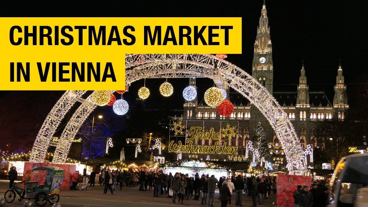 christmas market in vienna austria - Vienna Christmas Market