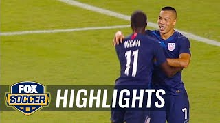 Bobby Wood scores on the counterattack vs. Colombia | 2018 International Friendly Highlights