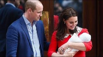 William und Kate präsentieren ihren kleinen Prinzen