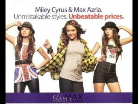 Miley Cyrus and Max Azria new clothing line *