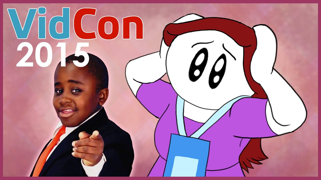 SMACK TALKED BY KID PRESIDENT: Highlights from VidCon 2015 - YouTube
