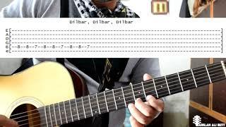 Dilbar Dilbar | Satyameva Jayate | Guitar Notes/Tabs Tutorial