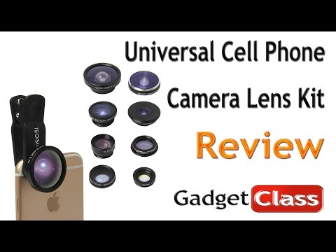 (:Review:) Clip-On Universal Cell Phone Camera Lens Kit ~ Fisheye, Macro, Telephoto, Wide Angle, CPL