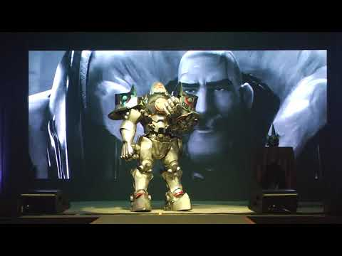 Final Concurso Cosplay CCXP 18: Reinhardt - Overwatch
