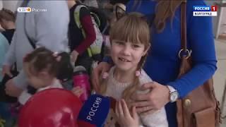 Победительниц Всероссийского конкурса детского рисунка пригласили в цирк