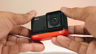 Insta360 ONE R Action Camera: Unboxing and First Look