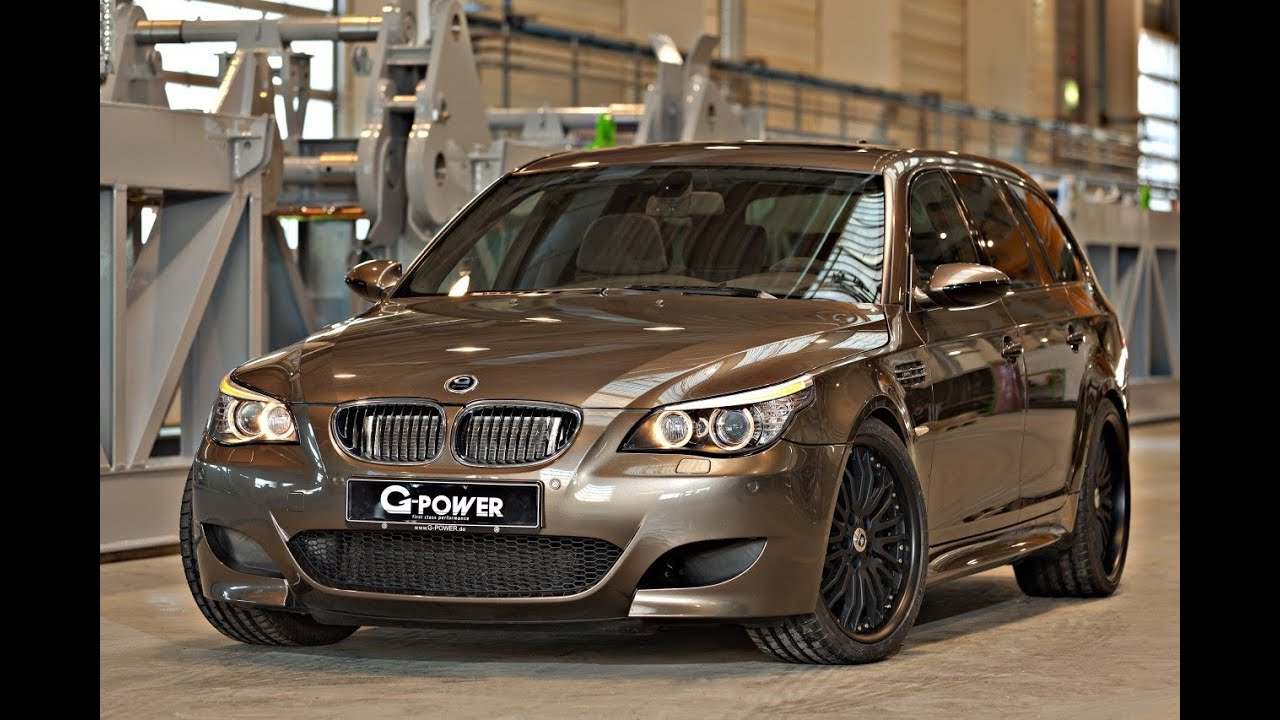 G Power Bmw M5 Touring Hurricane Rs M88i Youtube