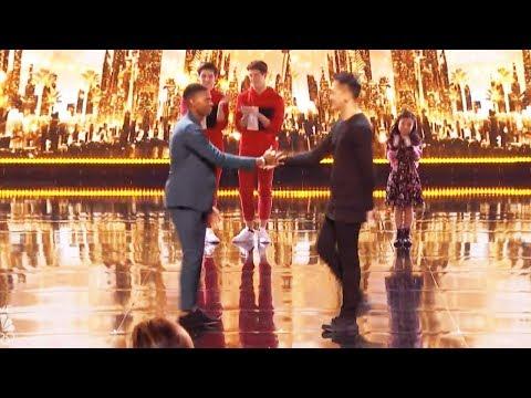 Results Quarter Finals  Johnny Manuel Damian Aditya America's Got Talent 2017 Round 2