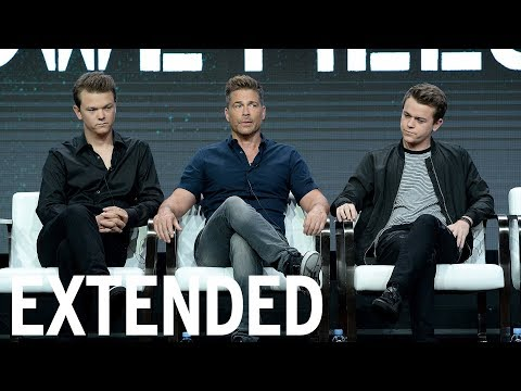 Rob Lowe & Sons Debate Attractiveness Of 'The Lowe Files' | EXTENDED