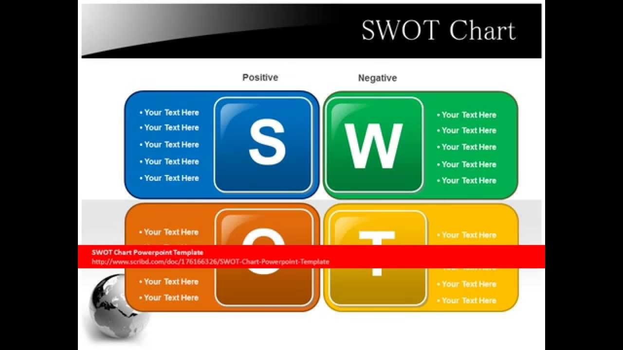 Swot Chart Powerpoint Template Youtube