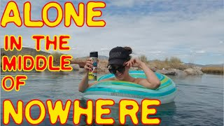 Solo Adventure Trip Part 1 of 7: Camping at a Warm Spring in the Middle of Nowhere, Nevada