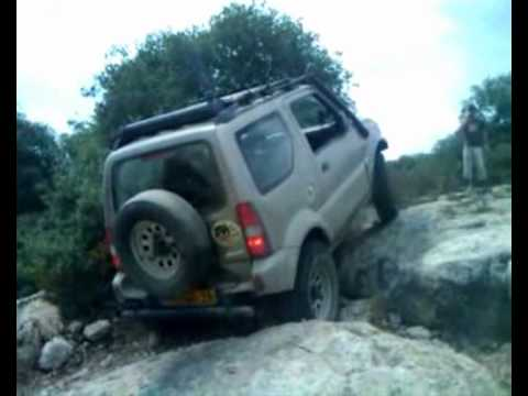 Ma'ale Akrabut 4x4 Suzuki Jimny Off Road - YouTube
