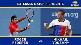 Roger Federer vs. Mikhail Youzhny | 2017 US Open, R2