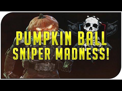 Gears of War 4 Multiplayer - SNIPER DESTRUCTION! (Halloween Pumpkin Ball Special Event Gameplay)