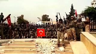 Afrin Merkez de Komando Marşı