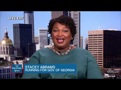 Stacey Abrams On Georgia Governor Race, Voter Suppression, Gun Control