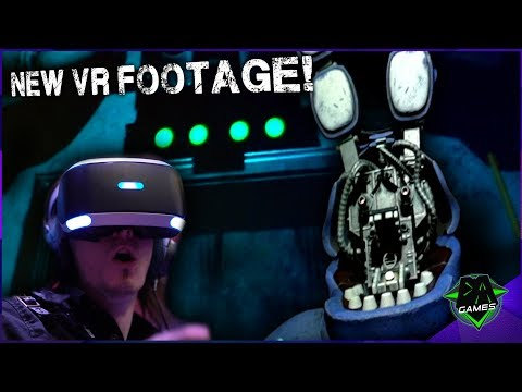 Never been more terrified! | FNAF VR BRAND NEW FOOTAGE | DAGames