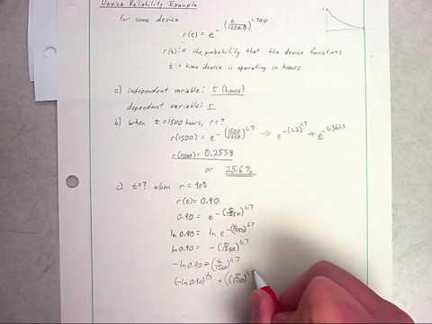 Exponentials & Logs