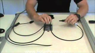 Solar Panel Solar Set Up  Basic Solar Wiring
