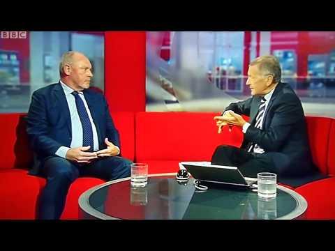 NSFT Chief Executive Michael Scott 'retires' BBC Look East 29th September 2017