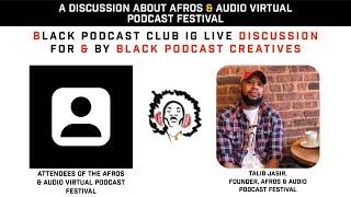 Afros & Audio IG Live - November 16, 2020