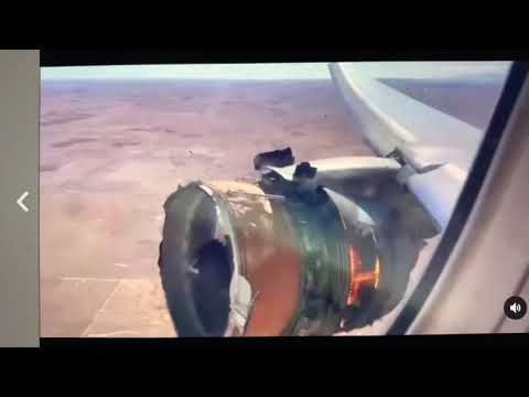 Engine On Fire From United Airlines Flight 328 Bound For Honolulu, Parts Dropped In Denver