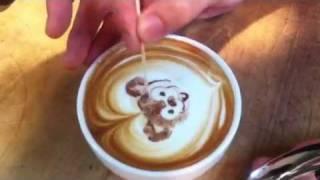 Coffee Art ダッフィー