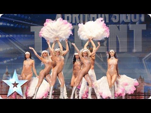 Crazy Rouge add some cabaret glamour | Britain's Got Talent 2014