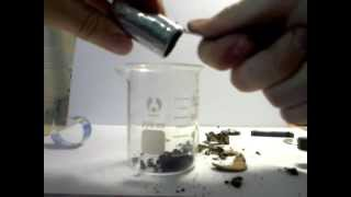 Химия из батарейки