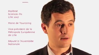 Gérald Darmanin - Diplômé Sciences Po Lille 2007 - Maire de Tourcoing