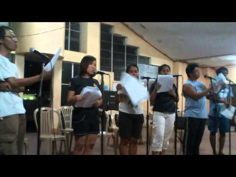 AN EVENING IN DECEMBER (Rehearsal) by LEVITECORO (Himig Kalawaan Choir)