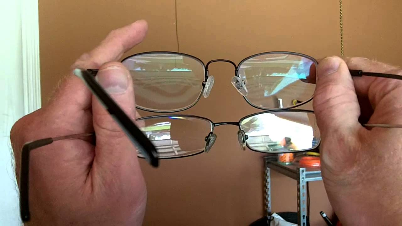 91f110c00e Why get anti glare coating on our glasses  - YouTube