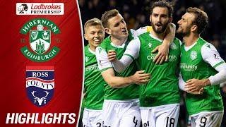 Hibernian 3-0 Ross County | Hibernian Claimed Consecutive Victories! | Ladbrokes Premiership