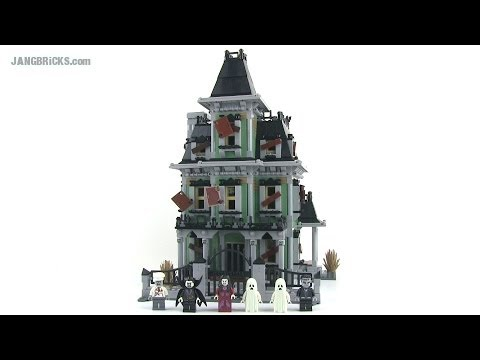 LEGO Monster Fighters 10228 Haunted House set review! 2,000+ pieces