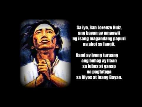 AMOC: Himno kay San Lorenzo Ruiz (Ofrasio, Hontiveros)
