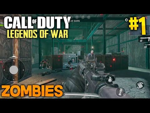 ¡ZOMBIES CALL OF DUTY LEGENDS OF WAR! COD MOBILE para ANDROID #1 thumbnail
