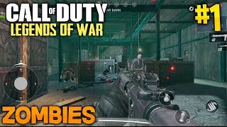 ¡ZOMBIES CALL OF DUTY LEGENDS OF WAR! COD MOBILE para ANDROID #1