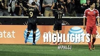HIGHLIGHTS: Philadelphia Union vs. San Jose Earthquakes | August 24, 2014