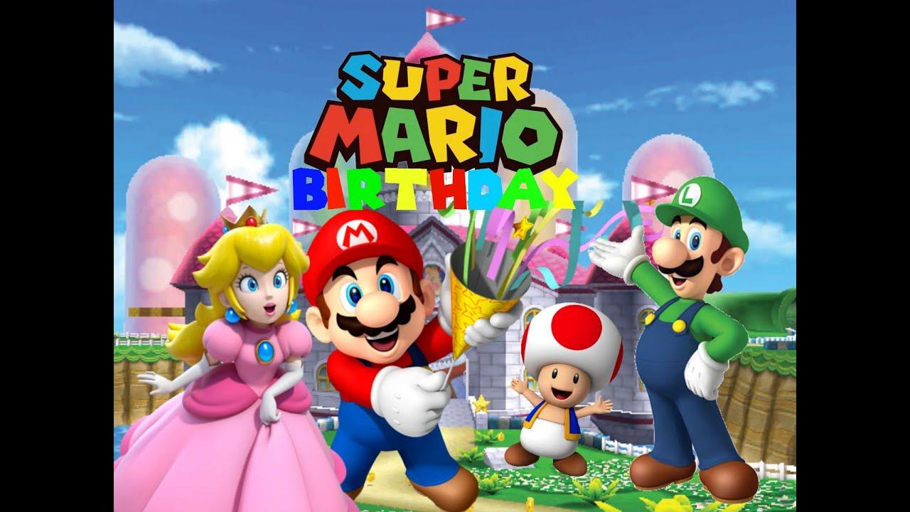 Mario S Birthday Youtube