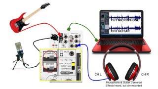 yamaha ag03 mixing console audio routing basics explained